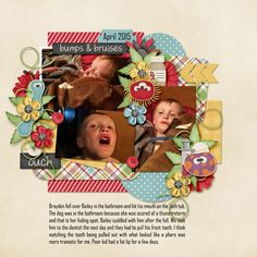 The Bright Side of Life by Dagi's Temp-tations  http://store.gingerscraps.net/The-Bright-Side-Of-Life.html    Get Well Soon {full kit} by Little Rad Trio  http://store.gingerscraps.net/Get-Well-Soon-full-kit.html