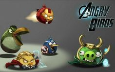 AVENGERS: Angry Birds Edition - I so wish they would make this a real game!!!!