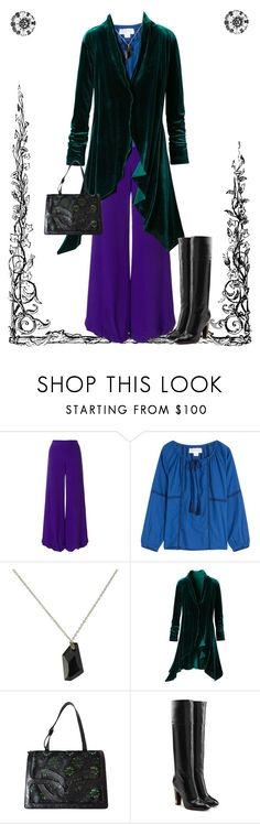 """""""Nice Day"""" by april-wilson-nolen ❤ liked on Polyvore featuring Emilio Pucci, Velvet, Alex and Ani, Dries Van Noten and Marc Jacobs"""