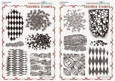 Chocolate Baroque Design Team: Introducing the July stamps of the month (posted by Judith)