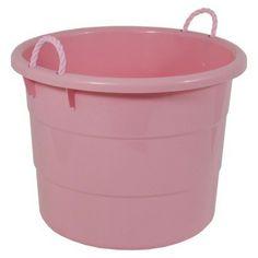 Target - 18 Gal Rope Tub - Pink