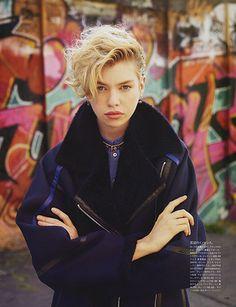 fordmodels:   Stella Maxwell for Vogue Japan November 2013