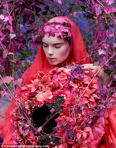 Kirsty Mitchell, who lost her mother to brain cancer, creates breathtaking fantasy photo series.