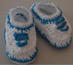 receita sapatinhos de croche - Pesquisa Google