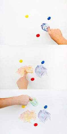 "Colour Theory for Little Ones, from Swoon on Playful Learning ("",) Preschool Colors, Preschool Art, Elements And Principles, Elements Of Art, Easy Crafts For Kids, Art For Kids, Rainbow Art, Creative Kids, Painting For Kids"