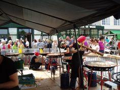 'Paelleros' aan het werk op 'Trammelant' in De Haan!!