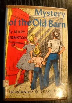 Mystery of The Old Barn by Mary Urmston HC w Jacket 1945 Vintage | eBay