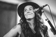 Brandi Carlile performs at the 2015 Newport Folk Festival.