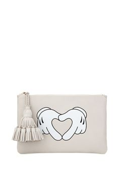 Heart Hands Georgiana Clutch by Anya Hindmarch for Preorder on Moda Operandi