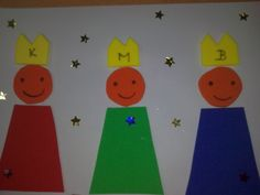 Wise Men, Bible Crafts, Advent, Christmas Crafts, Bricolage, Castles, Literacy Activities, January, Kindergarten