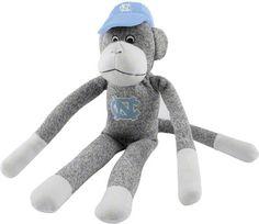 North Carolina Tar Heels Sock Monkey