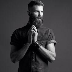 tat2dredbear65:  bendikkristiansen:  Bendik Kristiansen - Portfolio Bendik Kristiansen - Instagram  Beard style.