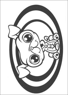 lps coloring pages dachshund | Littlest Pet Shop Dog Coloring Pages | cute lps Dog ...