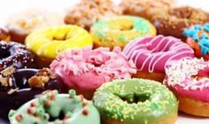 From the merchant: Hot, fresh, and delicious mini donuts, made while you wait; gourmet coffee and an assortment of other beverages. Donuts Beignets, Doughnuts, National Donut Day, Homemade Donuts, Food Lists, Fun Desserts, Treats, Chocolate, Resepi Donut