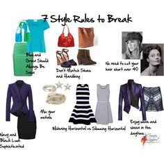 """""""7 Style Rules to Break"""", Imogen Lamport, Wardrobe Therapy, Inside out Style blog, Bespoke Image, Image Consultant, Colour Analysis"""