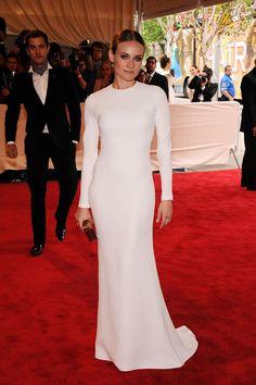 Best Met Gala Dresses Of All Time-Diane Kruger in Calvin Klein
