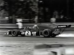 Patrick Depailler - March 742 BMW - March Engineering - XXII Grand Prix de Rouen 1974