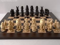 Alice in Wonderland Chess Set http://www.roleplaying.company