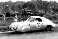 1952 Porsche 356 at Le Mans