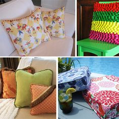 Pillows & cushions various shapes and styles