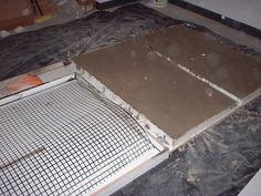 concrete countertops by pennylanelover Kitchen Pantry, Diy Kitchen, Kitchen Ideas, Kitchen Inspiration, Stamped Concrete, Decorative Concrete, Cement Pots, Do It Yourself Projects, Concrete Countertops