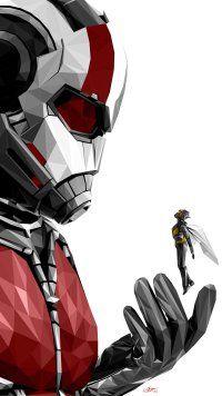 Movie Ant Man And The Wasp Mobile Wallpaper Iron Man Comic Art Marvel Superhero Posters Marvel Comics Wallpaper
