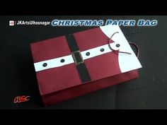 (3) DIY Paper Bag for Christmas Gifts | How to make | JK Arts 829 - YouTube