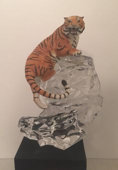 Franklin Mint Great Cats Bengal Tiger Porcelain Lead Crystal | eBay