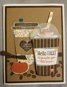 Stampin Up! Coffee cafe; Merry Cafe; Coffee Cups framelets