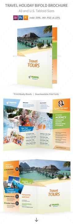 Pet Care Bifold / Halffold Brochure 3 Pets, Hospitals and Brochures - half fold brochure template