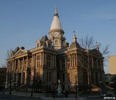 Tippecanoe County, Indiana Courthouse