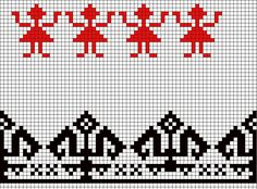 colectie de cusaturi romanesti - Căutare Google Cross Stitch Borders, Cross Stitch Baby, Cross Stitching, Cross Stitch Patterns, Pixel Crochet, Crochet Chart, Crochet Motif, Crochet Doilies, Wool Embroidery