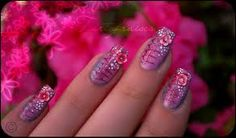 Nail art design has never been more exciting with so many possibilities for making beautiful nails. Now all the creative, funky, naughty girls can go for the most unbelievable nail art designs on their nails Nails Only, Get Nails, Love Nails, Cute Nail Art Designs, Nail Salon Design, Nails Design, Nail Length, Funky Nails, Dream Nails