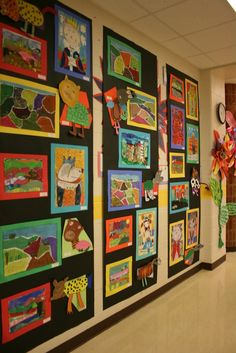 This is how my hallways should look- it's an HSES Arty Party!: