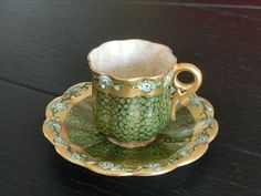 Coalport UK 1910 Lovely Teacup and Saucer Teapots And Cups, Teacups, Cafetiere, China Tea Cups, Tea Service, Coffee Set, Teller, Tea Cup Saucer, Vintage Tea