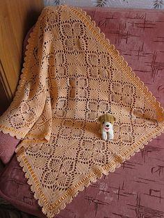 Ravelry: Hlada's Baby Blanket