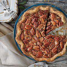 Tennessee Whiskey-Pecan Pie   MyRecipes.com