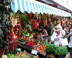 Market in Forio, on the island of Ischia, province of Naples - Photograph taken by Bonechi Imports