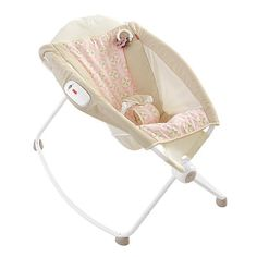 """A must have!   Fisher-Price Newborn Rock 'n Play Sleeper - Pink Lattice - Fisher-Price - Babies """"R"""" Us"""