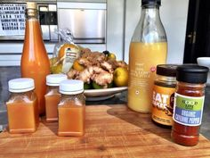 Our tangy Tiger Tonic is a natural, immune boosting wellness shot which helps fight inflammation. It's a perfect winter flu-fighting tonic. Wellness Shots, Wellness Fitness, Wellness Tips, Health And Wellness, Vitamin B Complex, Flu, Hot Sauce Bottles, Remedies