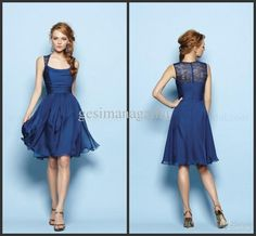 -Custom Custom Cheap Sexy Square A-line Cocktail Dresses | Buy Wholesale On Line Direct from China