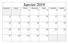 Calendrier Ea.10 Best Calendrier Janvier 2019 A Imprimer Images Calendar