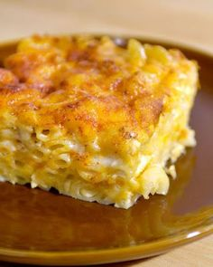 John Legend's Macaroni and Cheese - I have made it dozens of times and I get so many requests for it. I like to assemble it the night before. That gives the liquid time to absorb into the noodles and I think it makes it taste even better