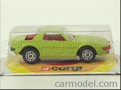 CORGI JUNIOR - FIAT - X1/9 Escala: 1/55 Condiciones: MB Código: / Color: LIGHT GREEN Material: die-cast Corgi, Wooden Toys, Branding, Colors, Wood Toys, Woodworking Toys, Corgis