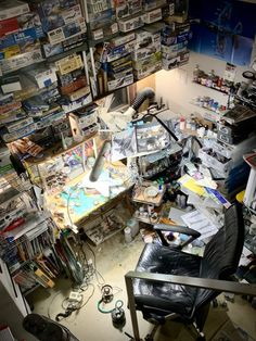 Art Studio Room, Art Studio Design, Hobby Desk, Hobby Room, Painting Station, Artist Workspace, Messy Room, Room Setup, Cool Inventions
