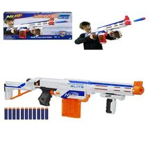 Nerf N-Strike Top Shot Elite Rifle GUN Retaliator Blaster Big game hunter  NEW