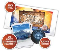 Give us the names of three of your friends who you think would like to become a member and you get your choice of a Merritt beach towel or Bluetooth speaker! Use your passes to give to your friends and when one of your friends joins on a new committed agreement before June 30, 2015 you will get a FREE month and be entered to win a beach house rental in Ocean City, Maryland for the week of August 1st-8th 2015!