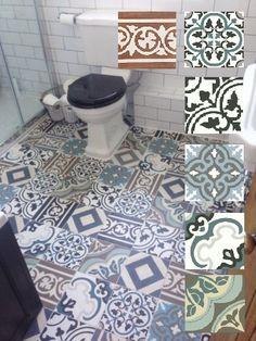 Cementtegel / Patroontegel / Cementtile  20x20 patchwork
