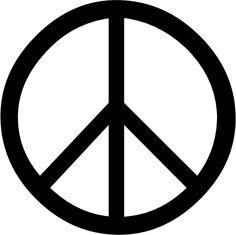 peace glyph/symbol