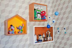 Decoração quarto de bebe. Ameise Design.